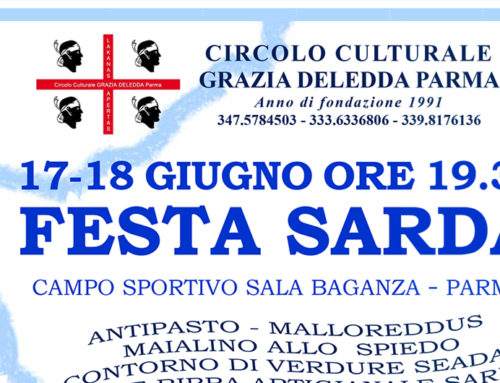 Festa Sarda il 17 e 18 giugno a Sala Baganza