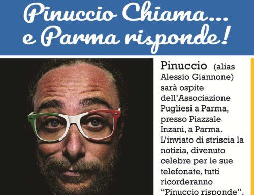 30-06-2019 Parma chiama….Pinuccio risponde